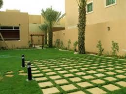 تصميم حدائق فلل صغيرة